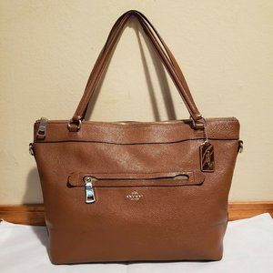 Coach Tyler Pebbled Leather Tote Bag F54687